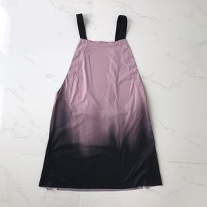 Hurley swimming coverup dress purple black woman m